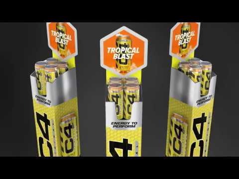 Pop-up Merchandising Display
