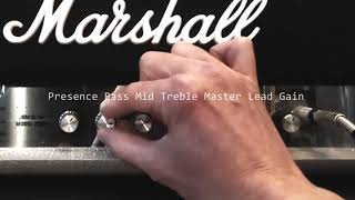 Marshall 2525H Mini Silver Jubilee Demo