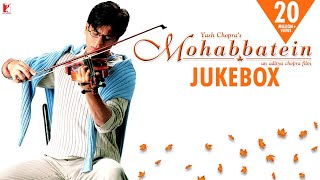 Gambar cover Mohabbatein Audio Jukebox | Full Songs | Jatin-Lalit | Shah Rukh Khan | Aishwarya Rai