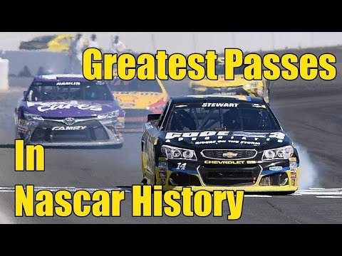 Greatest Passes In Nascar History