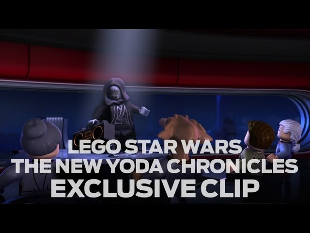 "LEGO Star Wars: The New Yoda Chronicles ""Escape from the Jedi Temple"" Preview Clip #1"