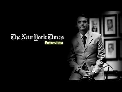 NEW YORK TIMES ENTREVISTA BOLSONARO