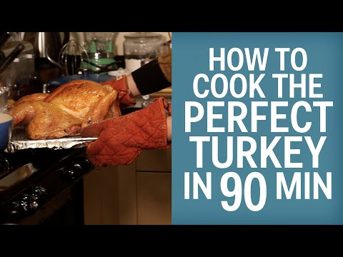 How To Cook The Perfect Turkey In Minutes Flat