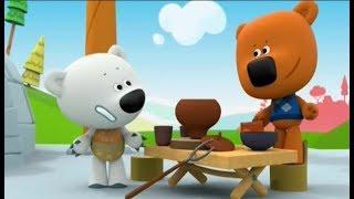 Ми-ми-мишки - Сборник мультиков про Кешу #Несовременная Еда| Мульт Игра для детей Книжки Kids Corner