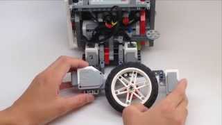 FLL 2015 Trash Trek - EV3 Sensor Placement
