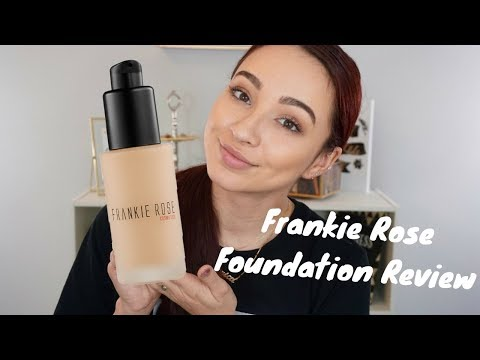 FRANKIE ROSE FOUNDATION REVIEW + WEAR TEST!