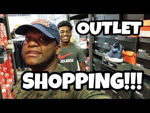 OUTLET SHOPPING WITH JAYY!!!