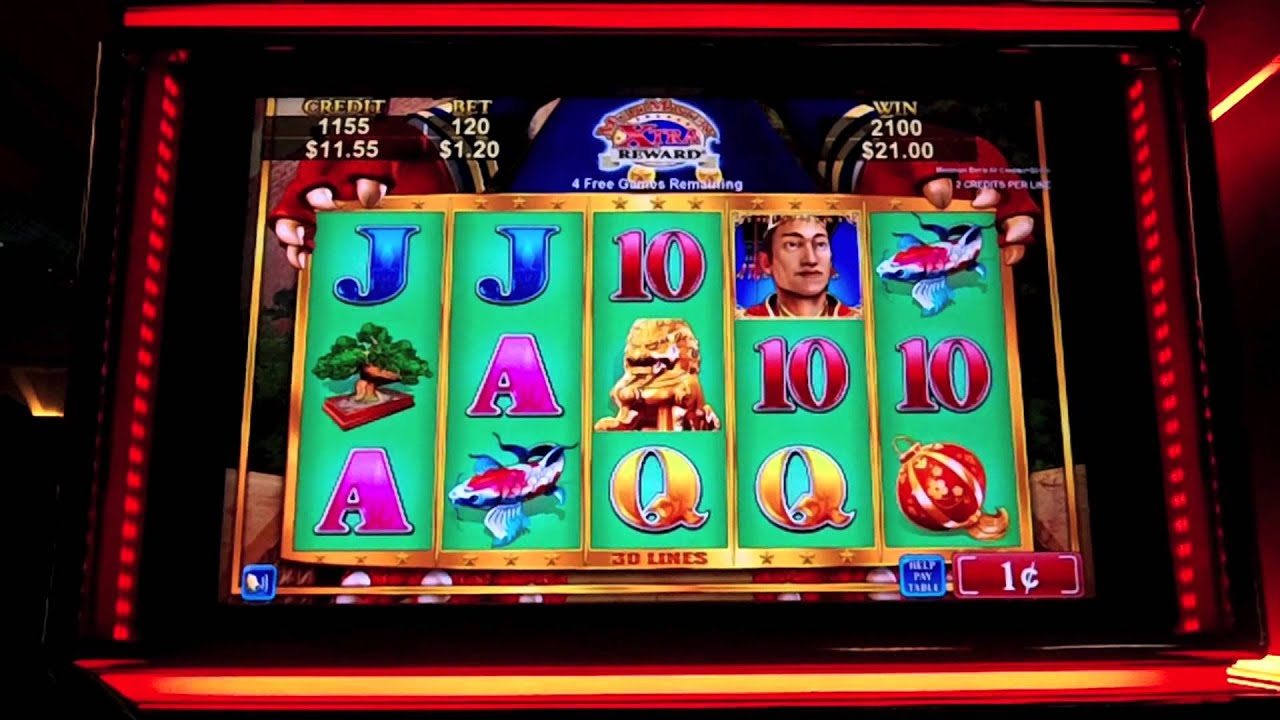 Chinese Slot Machine Games