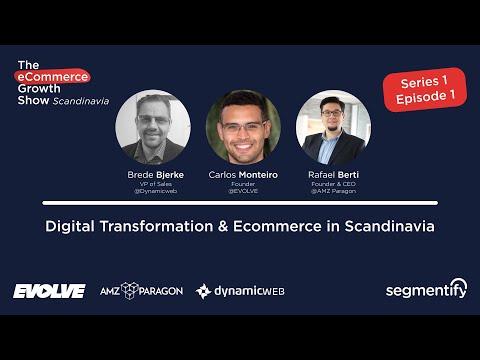 Digital Transformation & Ecommerce in Scandinavia - Brede Bjerke