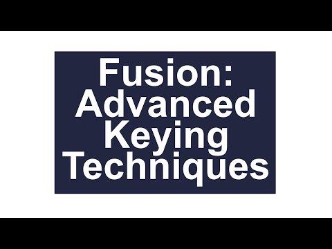 Blackmagic Fusion: Keying Tutorial Part Two