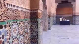 MEDERSA BEN YOUSSEF MARAKECH  MOROCCO مدرسة بن يوسف في مراكش