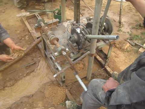 diesel engine portable small deep water well drilling rig for sale 2