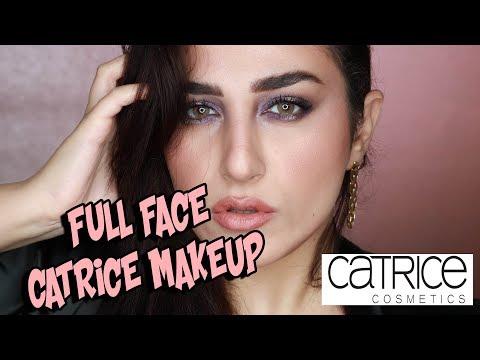 CATRICE Full Face drugstore Makeup Tutorial  | مكياج وجه كامل ببراند كاتريس
