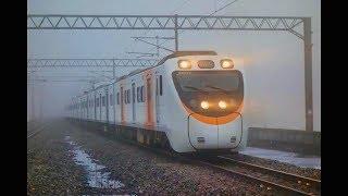 2018/01/06 臺鐵后里、泰安站列車紀錄
