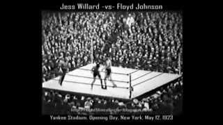 """Jess Willard's Last Stand"" -vs- Luis Angel Firpo & Floyd Johnson 1923 (16mm Transfer & Restoration)"