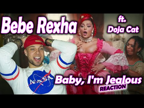 Bebe Rexha - Baby, I'm Jealous REACTION (ft. Doja Cat) w/ Aaron Baker
