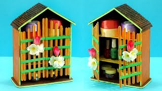 #DIY Best from Waste - How to Reuse Cardboard to make DIY Jewelry Organizer