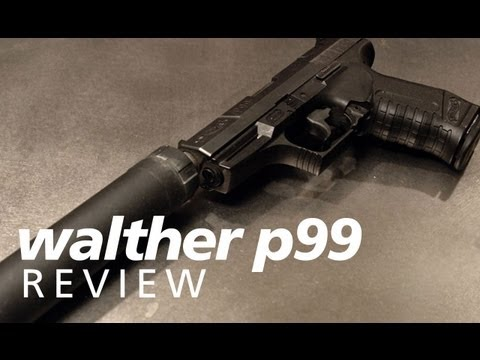 Quickies: the Walther P99 with the AAC TiRANT 9mm