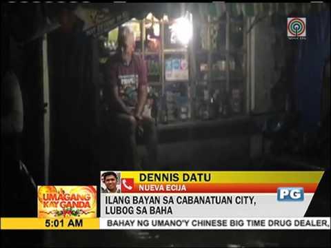 Cabanatuan City, lubog sa baha