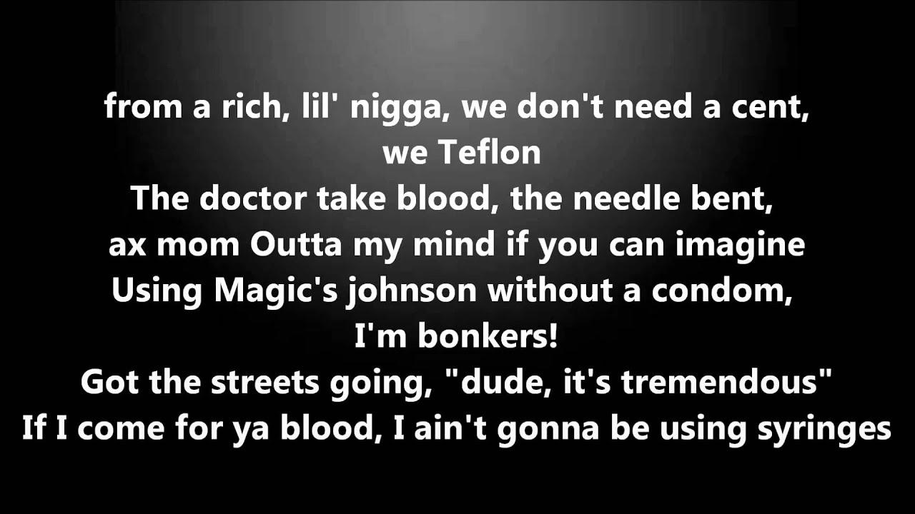 Quick freestyle rap lyrics
