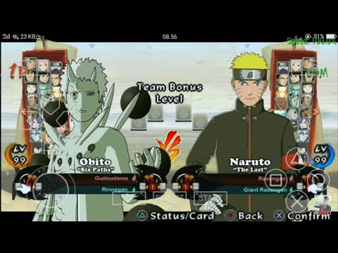 Cara Download Dan Instal Naruto Shippuden Ultimate Ninja Storm4 Mod For Naruto Ultimate Ninja Impact