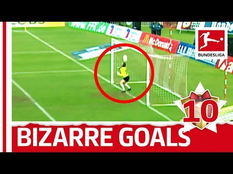 Top 10 slapstick goals - bundesliga 2017 advent calendar 10