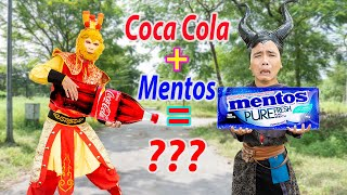 Tôn Ngộ Không Đấu Với Bảo Bối Kẹo Mentos và Cocacola | Tây Du Ký Ngoại Truyện