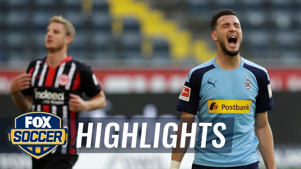 Eintracht Frankfurt 1 - 3 Borussia M'gladbach