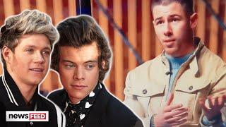 Watch Nick Jonas RAVE About Harry Styles & Niall Horan!