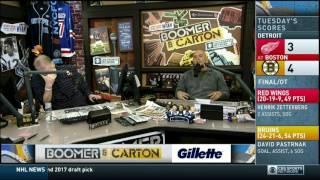 Boomer and Carton - Craig mocks Mike Francesa Super Bowl Trivia Game - Thomas in Long Island