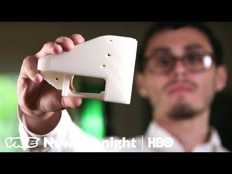 3D Printed Guns Are Easy To Make And Impossible To Stop (HBO)