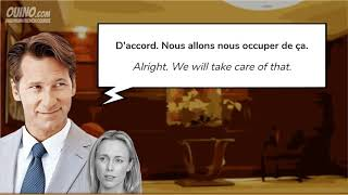 2 Learn French with Conversations  #7   A Stay at the Hotel   OUINO com   YouTube
