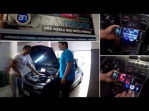 Punto GT com Radio LCD,alarme com corte corrente,sensor choque,modulo vidros.Estes gajos n brincam