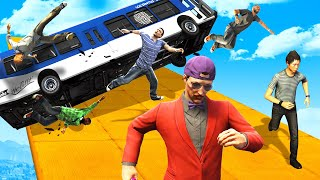 Can You Survive The ENDLESS AVALANCHE? - GTA 5 Funny Moments