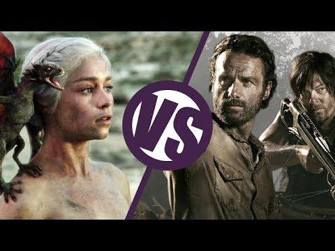 The Walking Dead VS Game of Thrones (No Spoilers) : TV Feuds
