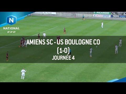 J4 : Amiens SC – US Boulogne CO (1-0), le résumé