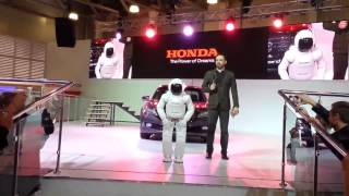 ASIMO on the Moscow International Automobile Salon 2014