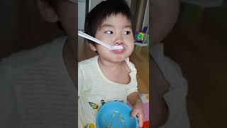 [구남매 먹방] 우리 애들이 좋아하는 누룽지