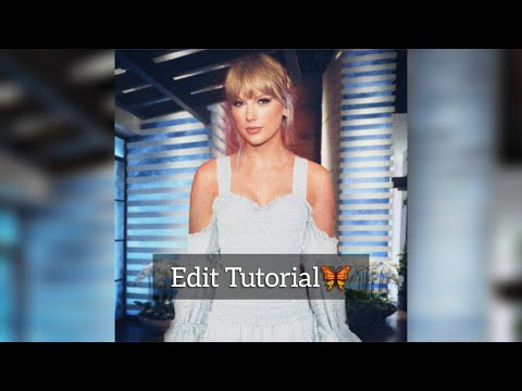 Taylor Swift - ellen show | Edit Tutorial ( picsart ) thumbnail