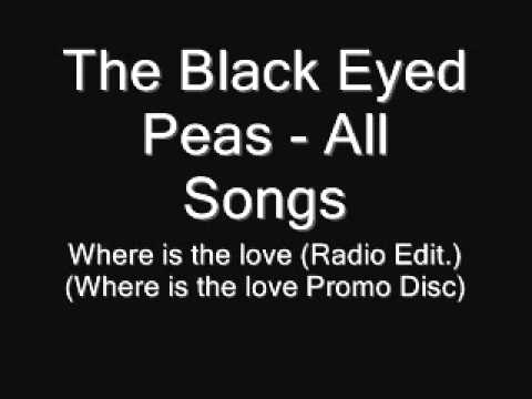 95. The Black Eyed Peas - Where is the love Radio Edit.