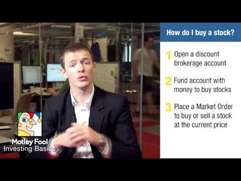 How Do I Buy A Stock?   Investing Basics By The Motley Fool
