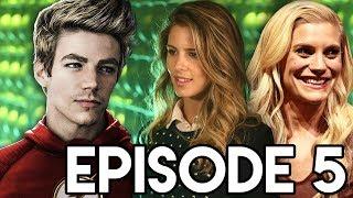 The Flash 4x05 Felicity Crossover & New Villain Teaser Breakdown