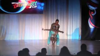 WLDCup 2014 ~ Final Salsa Parejas Cabaret ~ Sebastián Yepes & Laura Rivas