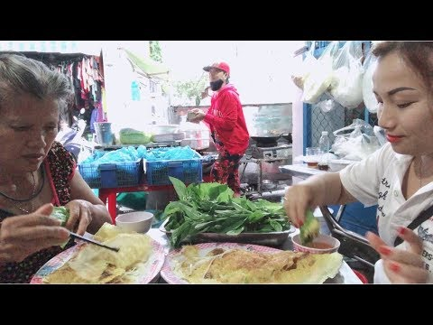 🇯🇵Ăn Vặt Bánh Xèo & Bánh Mì Bò Nướng Ngon Nức Tiếng Sài Gòn #127