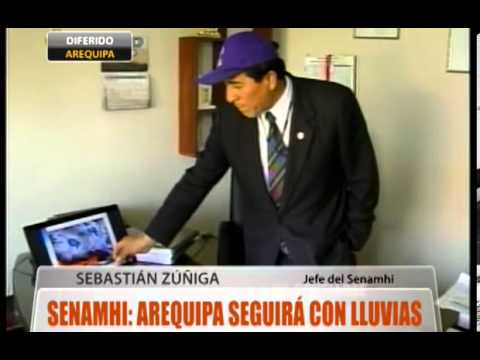 Senamhi: Arequipa seguirán las lluvias en Arequipa