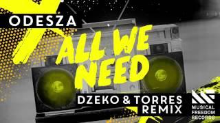Odeza all we need[dzeko & torres]