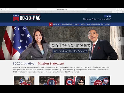 HELP ASIAN AMS as KINGMAKERS! (Short Version) WHO WILL  80-20 Endorse 2 Fight 4 Our Civil Rights?