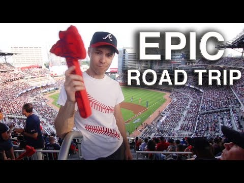 VLOG #9 -- Baseball road trip to Philly, Washington D.C, Hickory, and Atlanta
