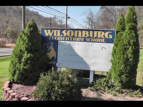 Remembering the 80's with some slide action. Wilsonburg Elementary School, Clarksburg, WV