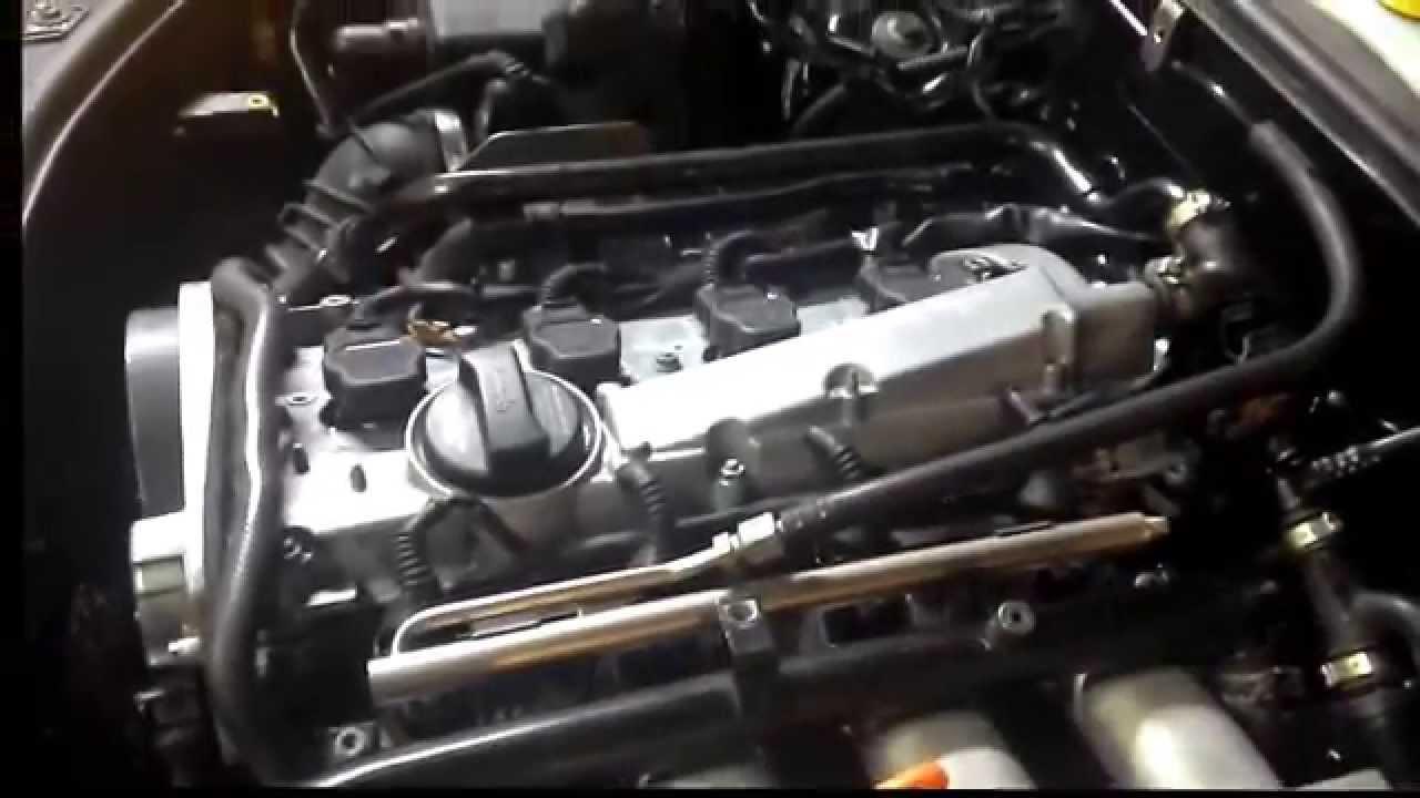 запуск двигателя AMB audi а 4 b6 после ремонта гбц